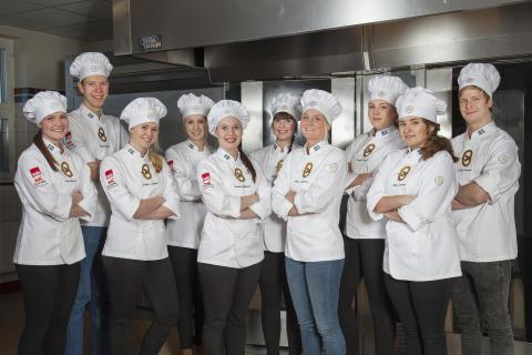 Tio finalister klara till SM Unga Bagare 2017
