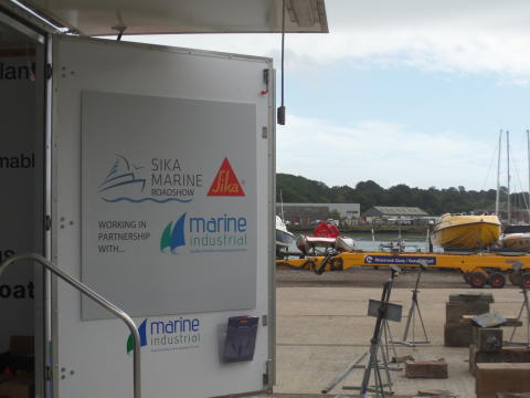 High-res image - Sika -  Sika Marine Roadshow