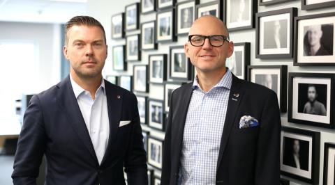RO-Gruppen: VD Andreas Jaldevik och vVD Pär Jorstadius