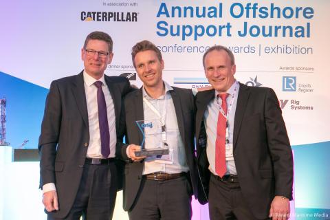 Hi-res image - Kongsberg Maritime - OTS Wins DP Award.