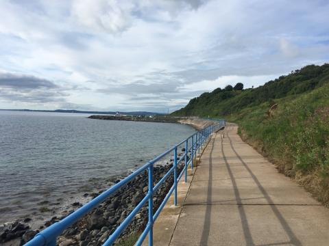 Work to restore Blackhead Coastal Path begins