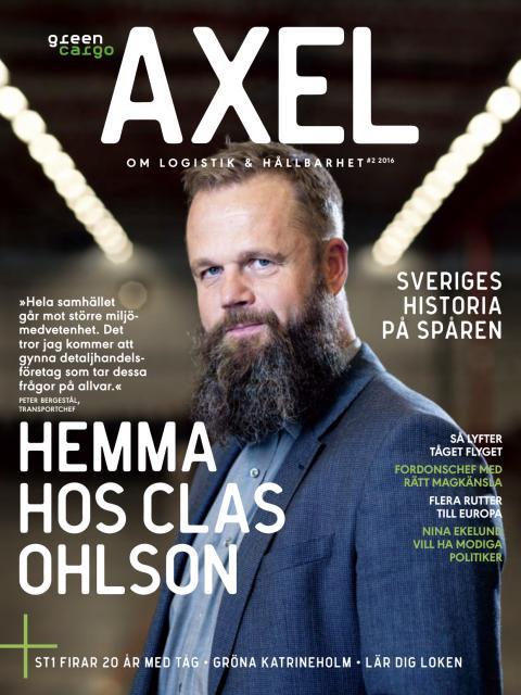 Kundtidningen Axel, nr 2 2016