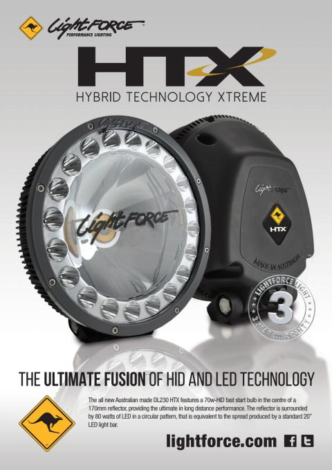 Lightforce DL230 HTX faktablad