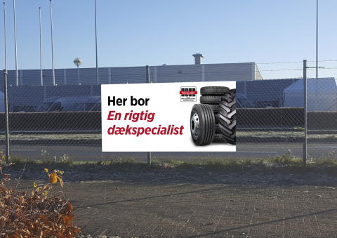 De rigtige dækspecialister i offensiven med kampagne