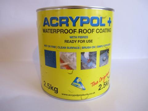 Acrypol+ now in a 2.5kg tin