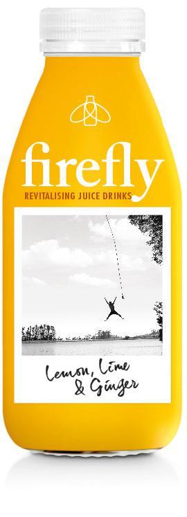 Firefly PET Lemon, Lime & Ginger, 400ml
