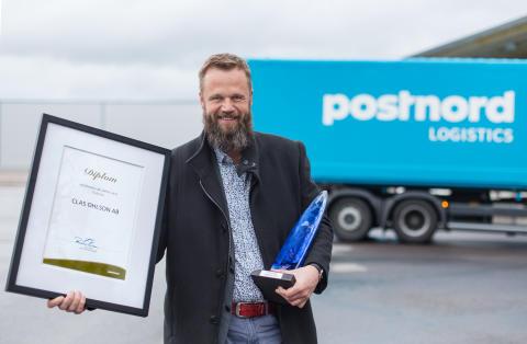 Clas Ohlson vinner  PostNords Miljøpris!