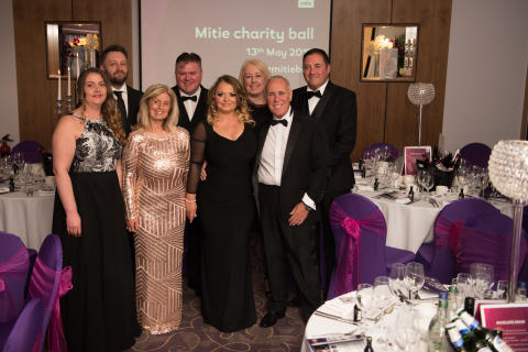 Mitie Charity Ball raises £32,000 for cancer charities