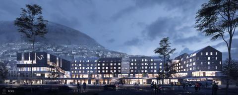 Scandic satser på Voss - Skal åpne bygdas største hotell