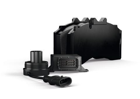 The BPW BrakePadMonitor monitors the brake lining wear