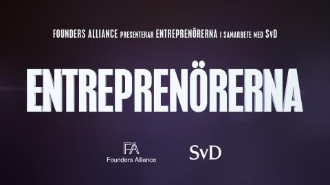 Founders Alliance för ut entreprenörernas röst – missa inte den nya dokumentärserien Entreprenörerna!