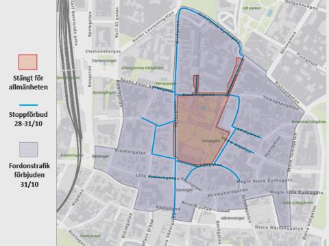 Pressinbjudan: Så jobbar vi med trafikfrågorna inför påvebesöket i Lund