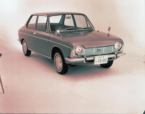 Boxer-motorn lanserades 1966 i Subaru 1000