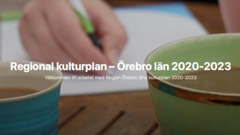 Missa inte dialogmötet i Lindesberg om regionala kulturplanen