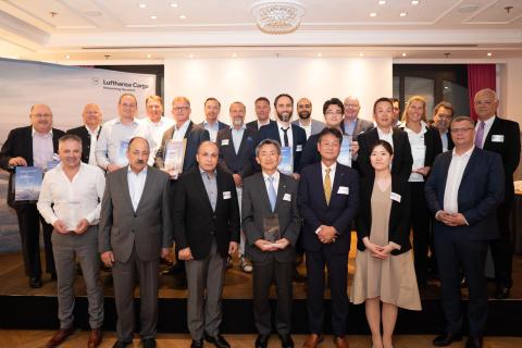 Lufthansa Cargo again confers Supplier Awards