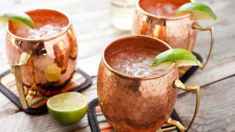 Moscow Mule med Grace Ginger Beer