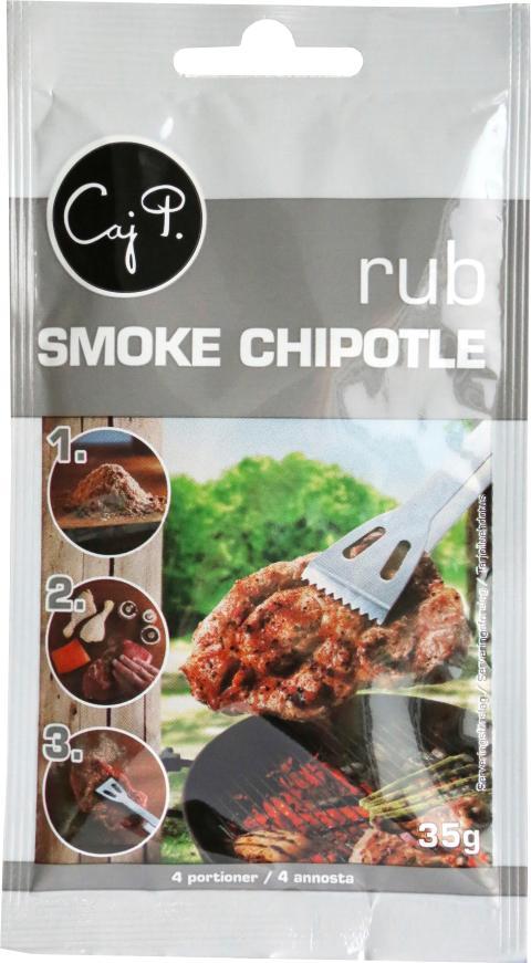 Caj P Rub Smoke Chipotle