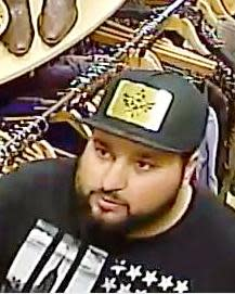 Image of second suspect wanted for questioning