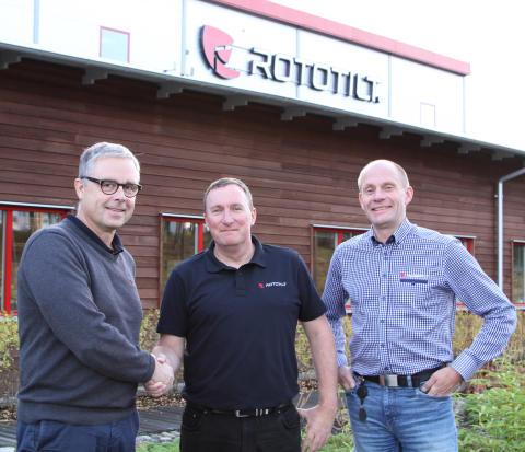 Per Väppling, Malcolm Long och Hans Röring