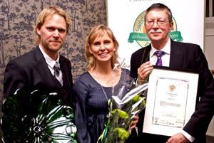 SAKAB delade ut pris till Årets kretsloppsavgiftare