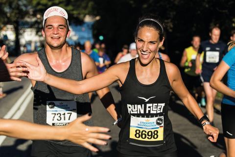 Löparfest i morgon med Stockholm Halvmarathon