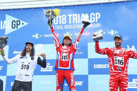 Kenichi Kuroyama Wins First Round of FIM Trial-E Cup on TY-E Electric Trials Bike