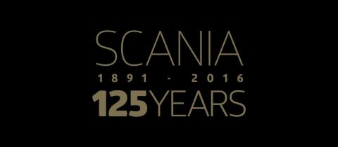 Scania fejrer 125 år