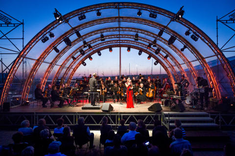 Neuseenland Musikfest - Konzert - Foto: Sebastian Leyser
