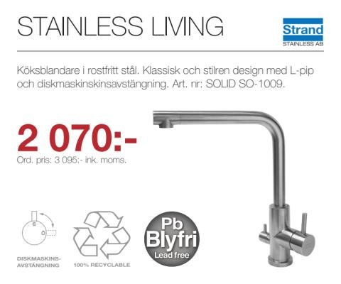 Kampanj - Stainless Living SO-1009