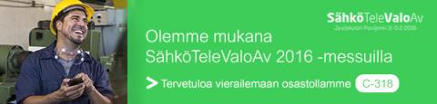 Schneider Electricin tuoteuutiset 1/2016 – Sähkömessut Jyväskylässä 3.-5.2.2016