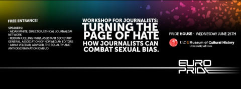 Workshop for journalists