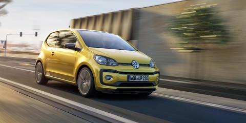 Världspremiär för nya Volkswagen up! i Genève