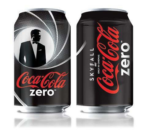 Coca-Cola Zero 007 Skyfall tölkit