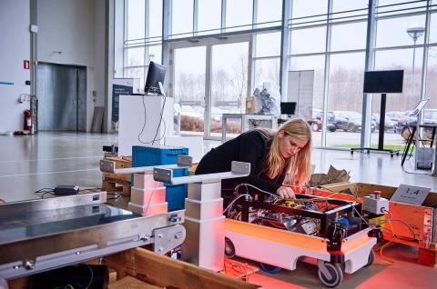 Industri 4.0 hos Vestas: Nu kan robotterne arbejde sammen
