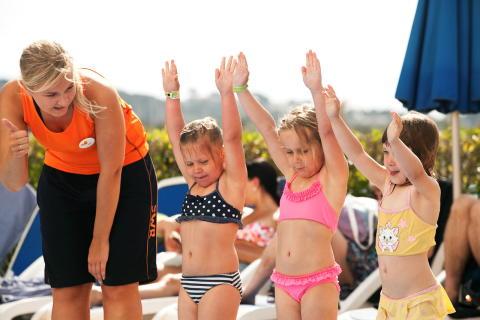 Simskola på Sunwing Family Resorts i sommar