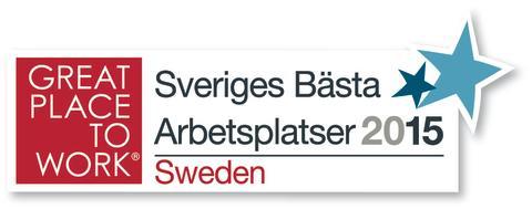3 tog silver när Sveriges bästa arbetsplats korades