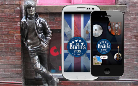 The Beatles Story Liverpool app re-launched by imagineear