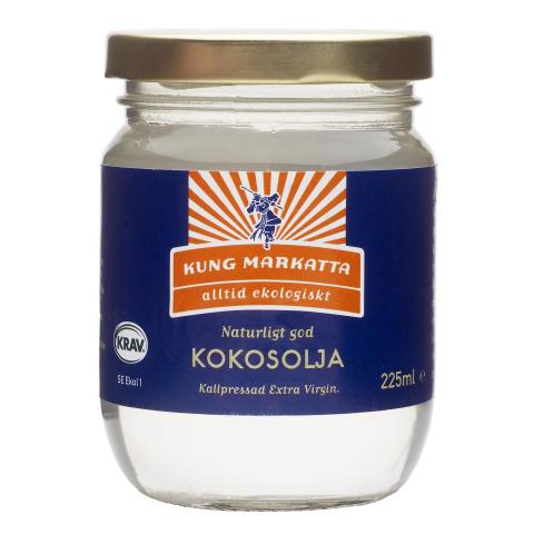 En tropisk fläkt i Kung Markattas sortiment - Kung Markatta lanserar KRAV-märkt Extra Virgin Kokosolja
