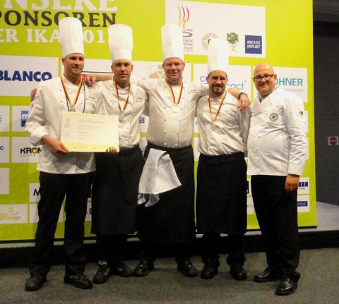 Skolkockarna tog OS-silver i Culinary Olympics
