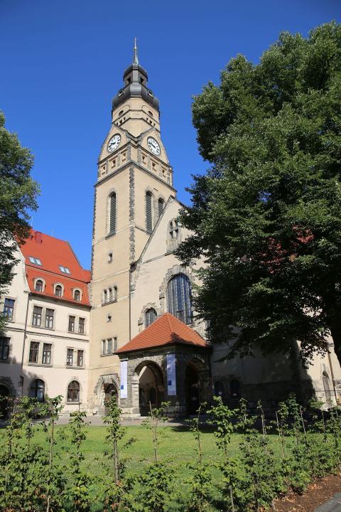 Integrationshotel Philippus - Außenansicht - Kirche