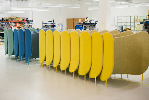 Offecct HQ production Tibro, Sweden