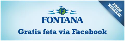 Fontana delar ut gratis fetaost via sociala medier