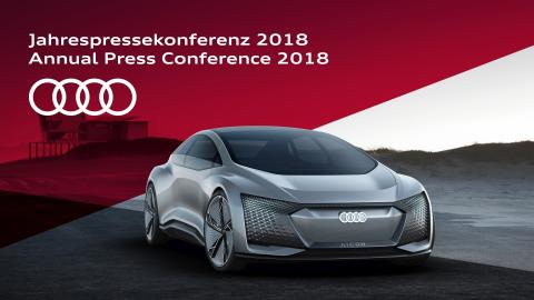 Live streaming af Audis årlige pressekonference