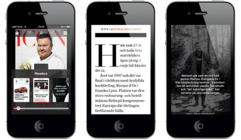 Stort intresse för Icons nya iPhone-magasin