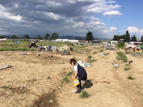 Idomeni: Fortfarande oklart vart flyktingarna förs
