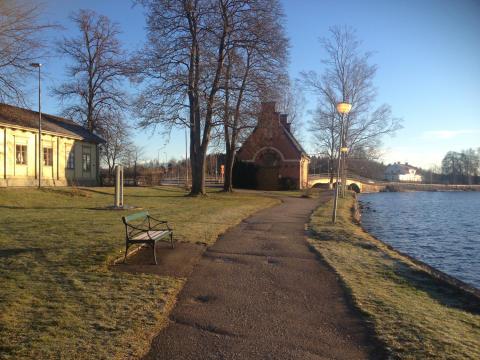 Mycket konst i utvecklingsplanen för Lindessjön runt