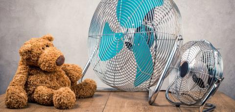 Hedebølgen giver historiske tilstande: Ventilator-salget steg over 300 procent