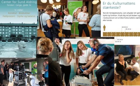 Big interest in the Run4Health initiative at the Culture Night in Copenhagen