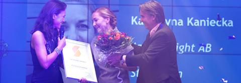 Katarzyna Kaniecka utsedd till Årets Auktoriserade Lönekonsult 2018