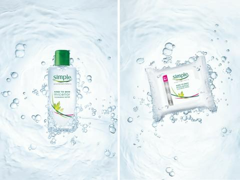 NYHET fra Simple - Micellar Cleansing Water og Micellar Cleansing Wipes